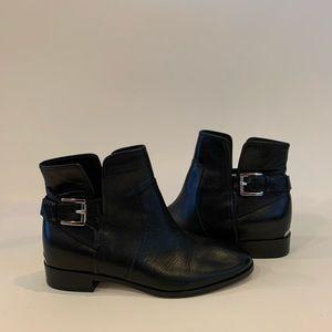 Michael Kors Leather Bootie in Black, 6US
